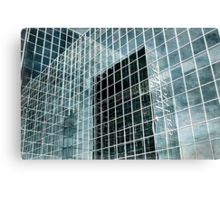 Glass Tower 3 Canvas Print