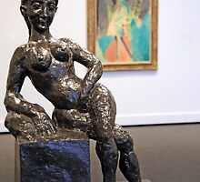 Matisse's Figure Decorative by Cora Wandel