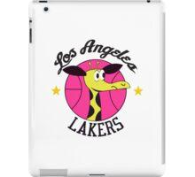 Los Angeles Lakers Giraffe Logo from 1961-62 Season! iPad Case/Skin