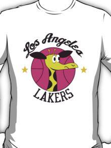 Los Angeles Lakers Giraffe Logo from 1961-62 Season! T-Shirt