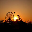 Summer's Last Sunset by Sharon Woerner