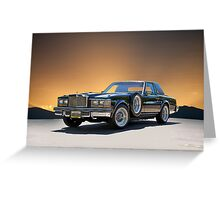 1979 Cadillac 'Opera Coupe' Greeting Card