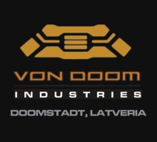 Von Doom Fantastic Four by logo-tshirt