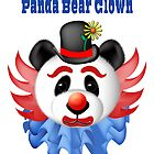 Clown Panda Bear by CarolV