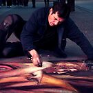 Chalk Artist by adriangeronimo