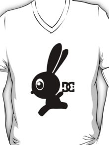 Make your own luck bunny shirt, now with leg! T-Shirt