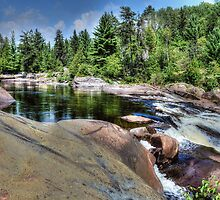 Onaping Falls , Northern Ontario by Elaine  Manley