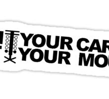 RUN YOUR CAR! Sticker