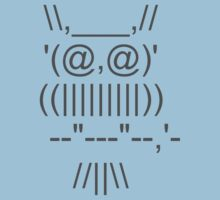 ASCII OWL by techyowl