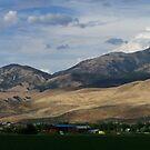 A Farm in Morgan Utah by Jan  Tribe