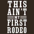 This ain't my first rodeo by artack
