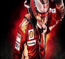 Kimi Raikkonen by jeveli