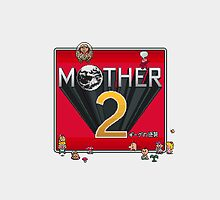 Alternative Mother 2 / Earthbound Title Screen by sheakennedy