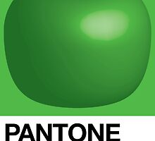 Pantone Green is for Apple by Aaron McDermott