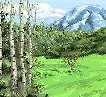 Mount Adjo by thedustyphoenix
