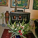 Flowers at Home by Nira Dabush