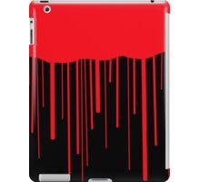 Blood Drips (black) iPad Case/Skin