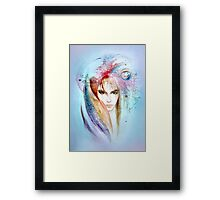 The Queen of Planets Framed Print