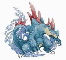 Feraligatr by Pokeplaza