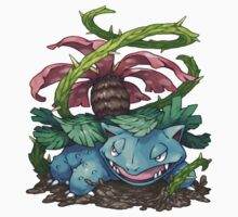 Venusaur by Pokeplaza