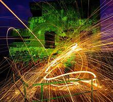 Crazy Fire by David Haworth
