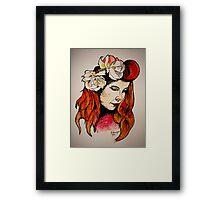 Paloma Faith Framed Print