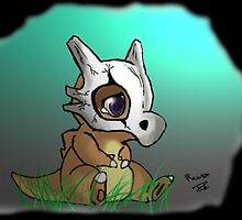 Cute Cubone by RamsesXll