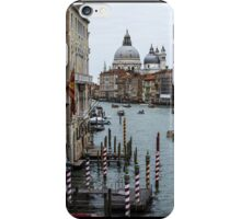 CanalPoles, Venice view iPhone Case/Skin