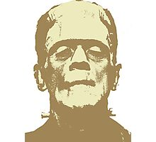 Frankenstein brown Photographic Print