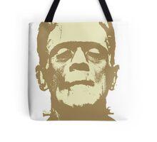 Frankenstein brown Tote Bag