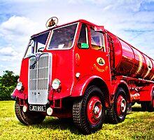 Red Tanker by vivsworld