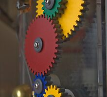 Meshing Gears by phil decocco