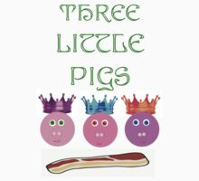 Three Pigs by Danielle LaBerge