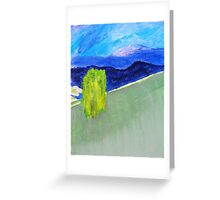 Willow on the Hill Greeting Card