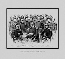 Union Civil War Generals  by warishellstore