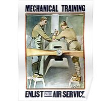 Enlist In The Air Service -- WW1 Poster
