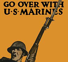 Go Over With US Marines -- World War One by warishellstore