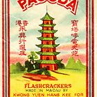 Vintage Firecracker Pack iPhone Case Series: Pagoda by SESSHP