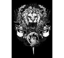 Lannister Lion Photographic Print
