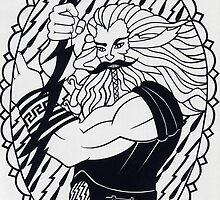 Zeus - invert by MrsTreefrog