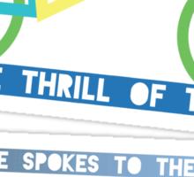 Thrill Of The Ride Sticker