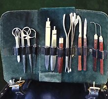 Surgical Instruments Circa Civil War by Susan Savad