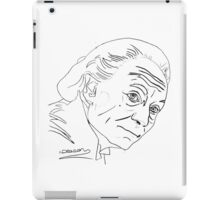 William Hartnell - 1st Doctor iPad Case/Skin