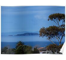 The Noises Islands......Auckland outer harbour.......! Poster