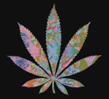 "Marijuana Leaf 2 ""TRIPPY"" by ElectricNeff"