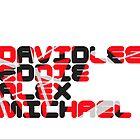 David Lee Eddie Alex Michael by walker12to88