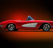 1961 Corvette Roadster II by DaveKoontz