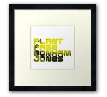 Plant Page Bonham Jones Framed Print