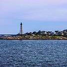 Marblehead Light In Marblehead Neck 2 by Rebecca Dru
