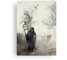 The Time Keeper... Canvas Print